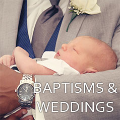Baptisms & Weddings at St Paul's and St Mary's